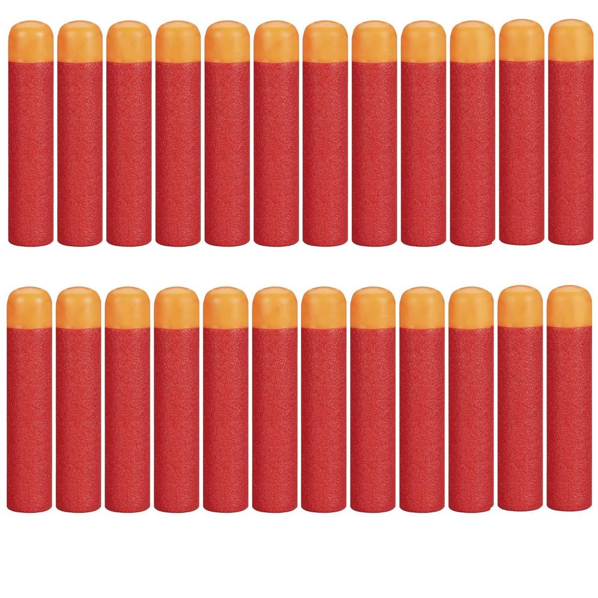 Набор из 24 стрел (мягкие пули) для игрушечного оружия Nerf Mega (Мега)