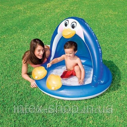 Бассейн детский надувной Intex 57418 «Пингвин», фото 2