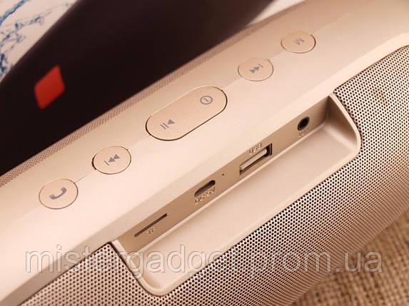 Колонка беспроводная JBL Charge 4 16W Золото Bluetooth ESR 2400mAh копия, фото 2