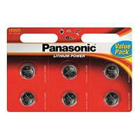 Panasonic CR2025 Lithium 6 шт/уп