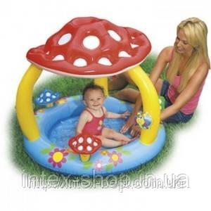 Детский надувной бассейн «Грибочек» Intex 57407 (102х89 см. ), фото 2