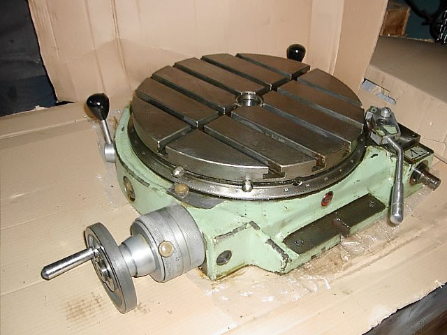 Стол поворотный для координатно-расточного станка 315мм ГОСТ 16163-90