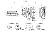 Стол поворотный фрезерный 400мм 7204-0005 ГОСТ 16936-71 , фото 2
