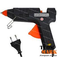 Пистолет клеящий ZD-9A, под клей 11мм c регулятором температуры, 200Вт