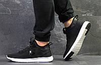Мужские кроссовки  Reebok Pump   кроссовки рибок черные - Сетка,подошва пена, Размеры: 41-45 Китай, фото 1