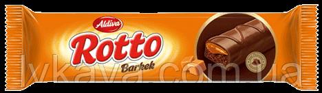Бисквит Rotto barkek Aldiva  с карамельным  кремом , 40 гр