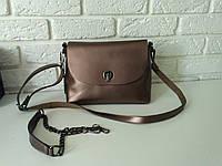 """Женская кожаная сумка """"Ненси  Bronze"""", фото 1"""