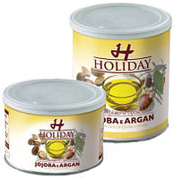 Holiday Воск теплый баночный масло арганы и жожоба, 400 мл