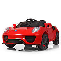 Детский электромобиль M 3666 EBLR-3 FERRARI: EVA, 2.4G, 7 км/ч - КРАСНЫЙ - купить оптом