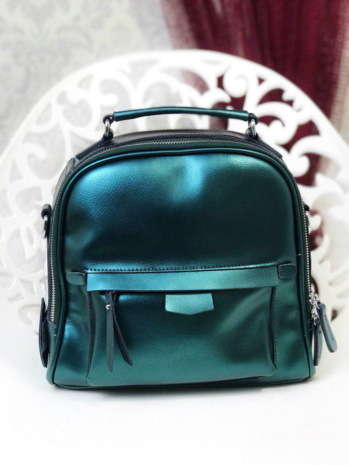 Сумка  в стиле кожа рюкзак- сумка- трансформер!