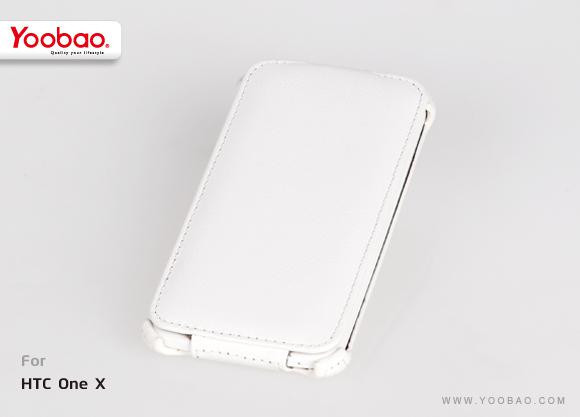 Yoobao Lively leather case for Htc One S Z320e, white LCHtcONES-LWT