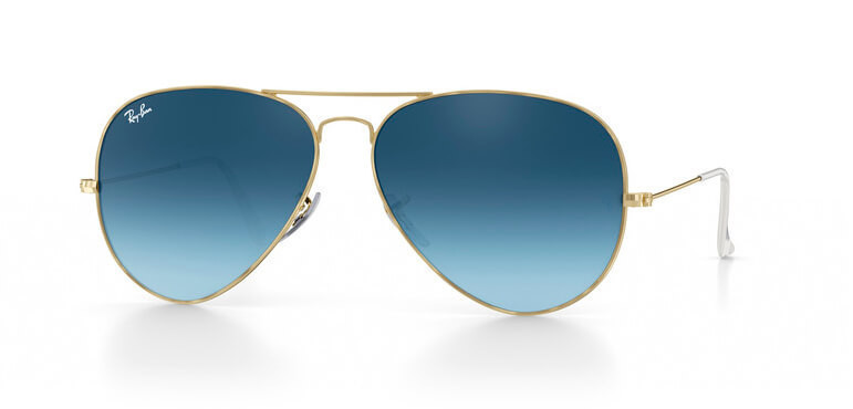 Очки RAY BAN AVIATOR GRAY BLUE GRADIENT, Оригинал! — в Категории