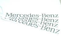 """Наклейка на  автомобиль  """"Mercedes-Bens"""" 300*30 мм"""