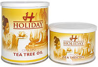Holiday Воск теплый баночный с маслом чайного дерева, 400 мл