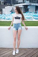 Женские джинсовые шорты First