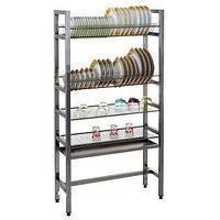 Стеллаж для сушки посуды СТС-3ТС  Эфес 900