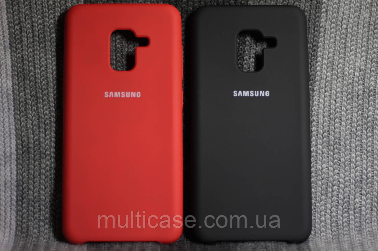 new style 1377b d4d74 Чехол Silicone Case Samsung Galaxy A8 (2018): продажа, цена в Киевской  области. чехлы для телефонов, ...