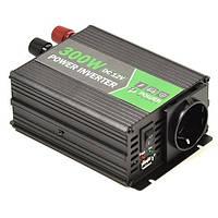 Автомобильный инвертор HYM300-122 в прикуриватель 12 вольт PowerPlant