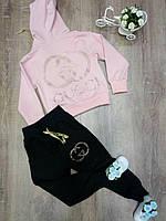 Бледно-розовый спортивный костюм 110