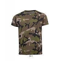 Футболка SOL'S CAMO MEN ( мужские футболки )
