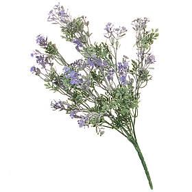 Искуственный цветок ветка с напылением 33 см 039FW-2
