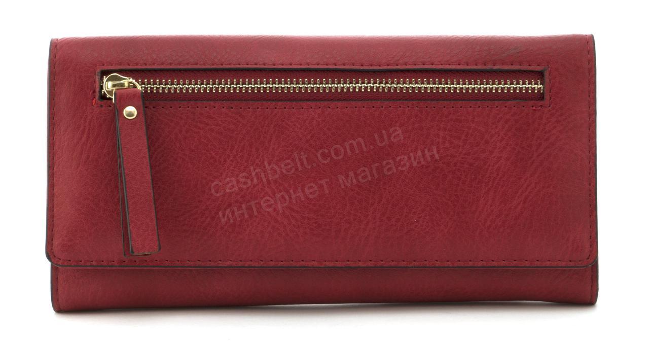 Прочный многофункциональный женский прочный кошелекэко кожиSARALYN art. C-7241 красный