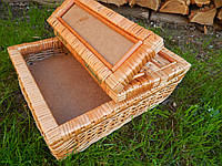 Ящик шкатулка плетеный  под разные молочи, фото 1