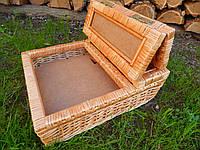 Ящик шкатулка плетеная  под разные мелочи