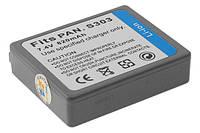 Аккумулятор Drobak для видеокамеры/фотокамеры PANASONIC CGA-S303