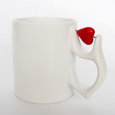 "Чашка с антистресом ""сердце"""