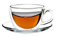 Чашка с блюдцем  (двойные стенки)