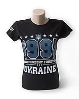 """Футболка женская, дизайн """"1991 Украина"""""""