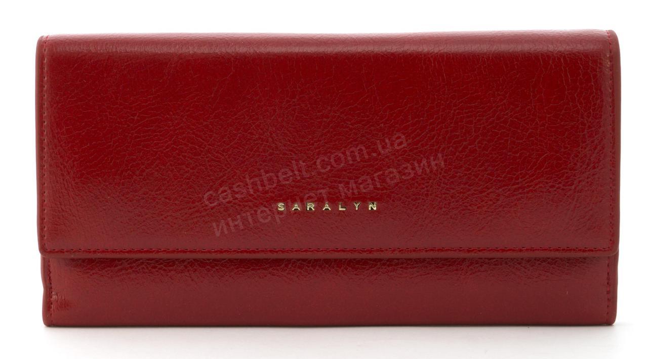 Прочный многофункциональный женский прочный кошелекэко кожиSARALYN art. J-1206 красный