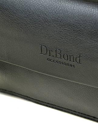 Сумка Мужская Барсетка иск-кожа DR. BOND 1606-2 black  продажа e09a119690880