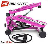 Степпер Hop-Sport HS-30S pink  для дома и спортзала