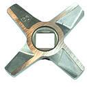 ➜ Нож для мясорубки Zelmer NR8 (ОРИГИНАЛ) Двухсторонний (ZMMA128X), фото 6