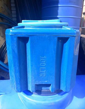 Ємкість на воду бідон 100л, фото 2
