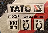 Струбцина пружинная YATO 100мм YT-64270, фото 2