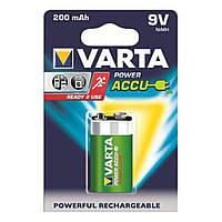 Аккумулятор VARTA Accu 6F22 9V (крона) 200 mAh 1шт./уп.