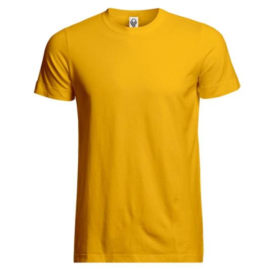 Футболка мужская ROZA 140 G, желтый