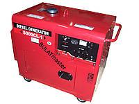 Дизельный генератор WEIMA (Вейма) WM5000E (5,5 кВт) SILENT(шумоизоляционный корпус)