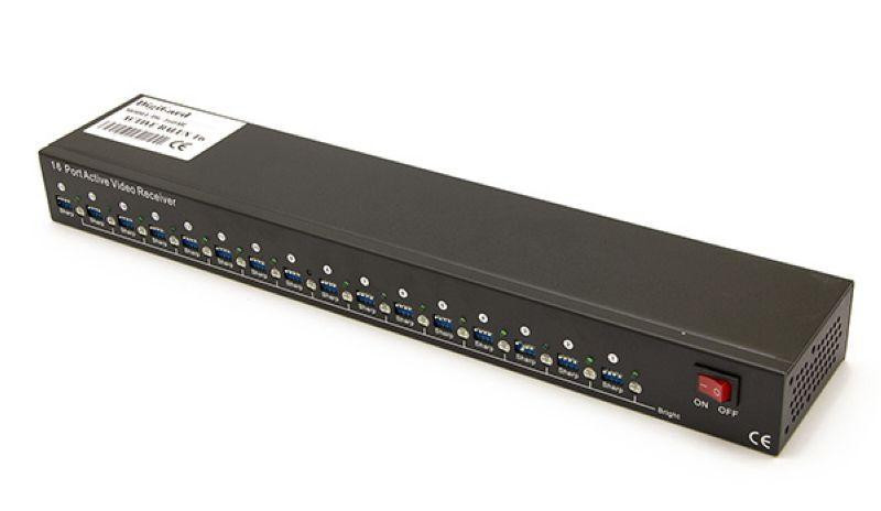 Активный передатчик видеосигнала по витой паре DG-080AR 800-1200m