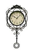 Настенные часы с маятником Kronos SC-906AR металл