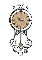 Настенные часы с маятником Kronos SC-906BE металл