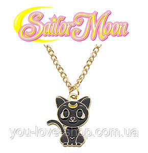 Кулон кошка Луна из Сейлор Мун Sailor Moon