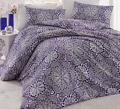 Комплект постельного белья полуторный Arya ранфорс 160Х220 нав 50х70 Rozi Синий TR1003837
