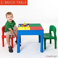 Игровой стол для LEGO 5 в 1, квадратный - 2