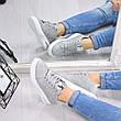 """Кроссовки, кеды, мокасины женские серые """"Follower"""" эко замша, спортивная, летняя повседневная обувь, фото 3"""