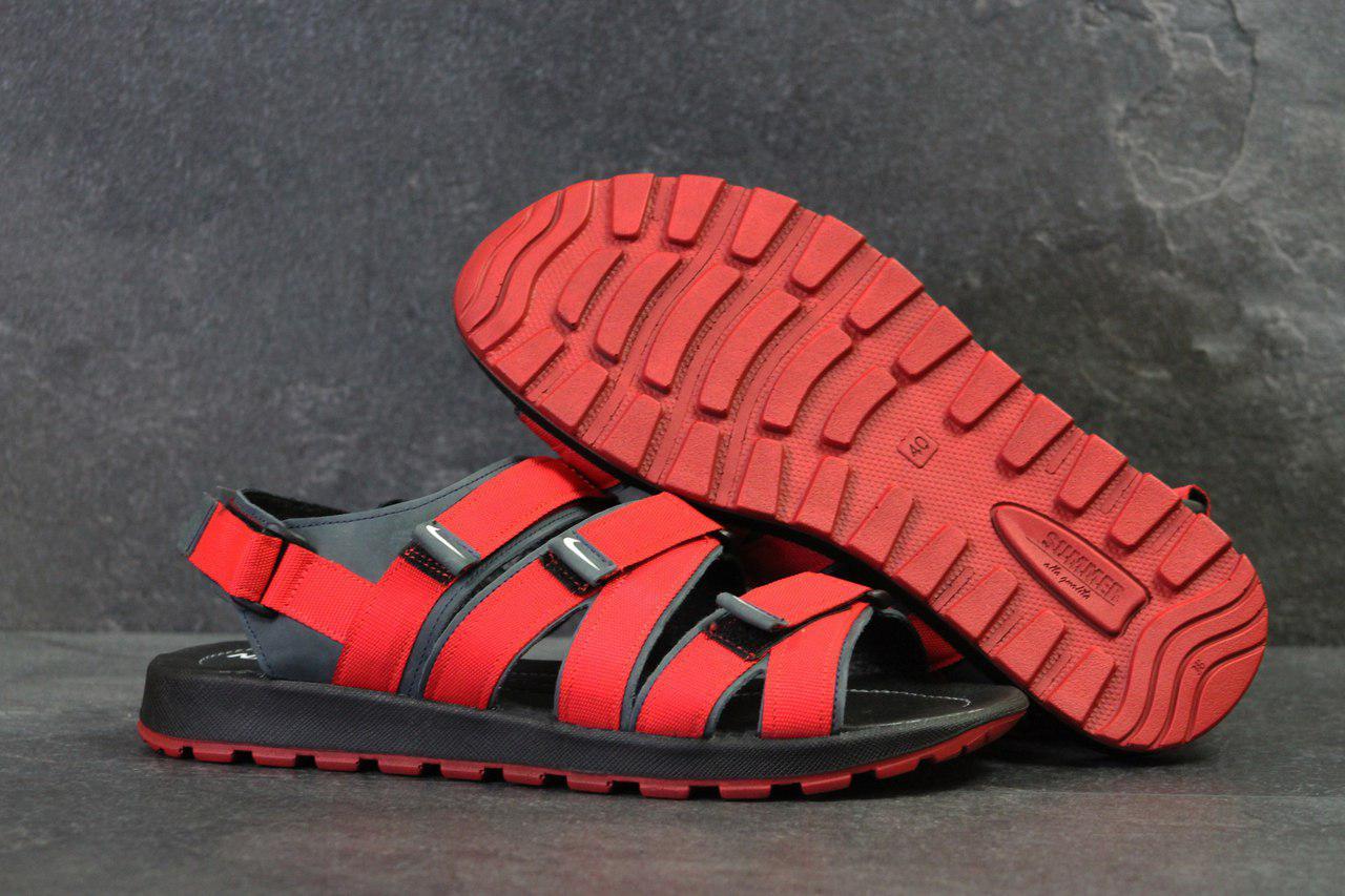 Сандалии Мужские Nike Красные Код 5243 — в Категории