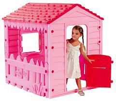 Домик игровой розовый